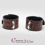 S-Bracelets-croco-marron-4