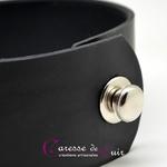 Collier-sm-cuir-noir-anneau-argenté-3