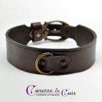 Collier-SM-cuir-marron-anneau-couleur-bronze-6