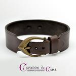 Collier-SM-cuir-marron-anneau-couleur-bronze-5