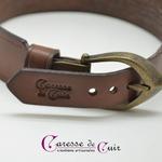 Collier-SM-cuir-marron-anneau-couleur-bronze-3