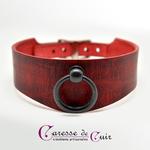collier-sm-cuir-rouge-veinage-noir-1
