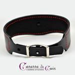 Collier-sm-cuir-noir-couture-sellier-rouge-3
