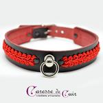 collier-sm-anneau-gallon-rouge-cuir-noir-2