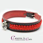 collier-sm-anneau-gallon-rouge-cuir-noir-1