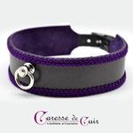 collier-sm-cuir-broderie-anneau-cuir-noir-galon-violet-3