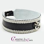 collier-sm-cuir-broderie-anneau-cuir-noir-galon-blanc-2