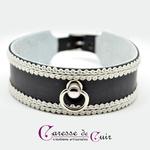 collier-sm-cuir-broderie-anneau-cuir-noir-galon-blanc-1