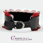 collier-cuir-sm-dentelle-rouge-noir-anneau-2