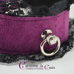 collier-tour-de-cou-SM-cuir-violet-dentelle-noire-2
