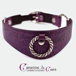 collier-cuir-violet-sm-martellage-trois-anneaux-1