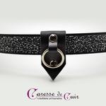 Collier-cuir-noir-SM-pointe-amovible-argent-4