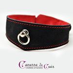 ensemble-collier-sm-cuir-laisse-noir-rouge-caressedecuir-3