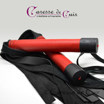 martinet-cuir-rouge-noir-swarovski-caressedescuir-5