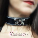 collier-cuir-noir-sm-martelage-argent-5
