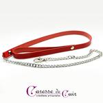 laisse-sm-cuir-chaine-rouge-1