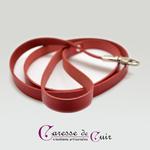 laisse-cuir-noir-rouge-mousqueton-2