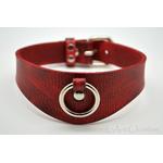 Collier-SM-cuir-rouge-veiné-noir1