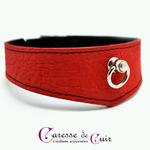 collier-cuir-rouge-veiné-sm-anneau-doublure-velours-1