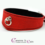 collier-cuir-rouge-veiné-sm-anneau-doublure-velours-2