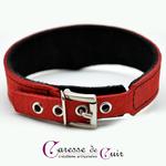 collier-cuir-rouge-veiné-sm-anneau-doublure-velours-3