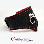 Bracelet-sm-cuir-noir-rouge-caressedecuir-4