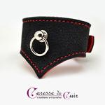 Bracelet-sm-cuir-noir-rouge-caressedecuir-2