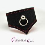 Bracelet-sm-cuir-noir-rouge-caressedecuir-3