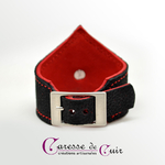 Bracelet-sm-cuir-noir-rouge-caressedecuir-1