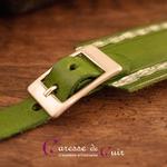 Collier-SM-cuir-vert-argenté-7