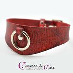 Collier-SM-cuir-rouge-veiné-noir-1