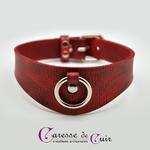 Collier-SM-cuir-rouge-veiné-noir-2