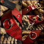 Collier-SM-cuir-rouge-veiné-noir-Ap