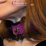 collier-tour-de-cou-SM-cuir-violet-dentelle-noire-5