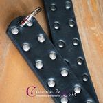 paddle-cuir-noir-dentelle-starss-anneau-mousqueton-2