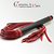 grand martinet-cuir-noir-rouge-caresse de cuir -1