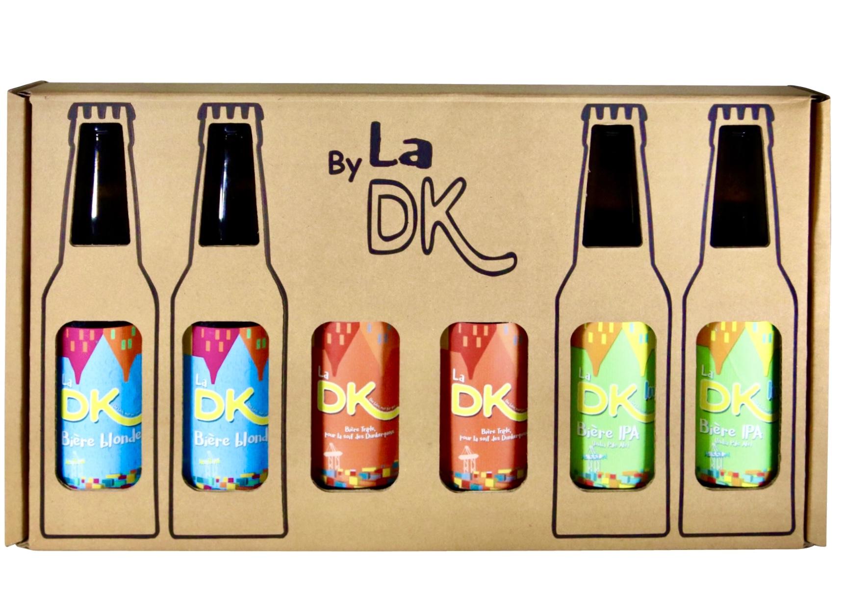 COFFRET DE 6 BIÈRES DK 33cl