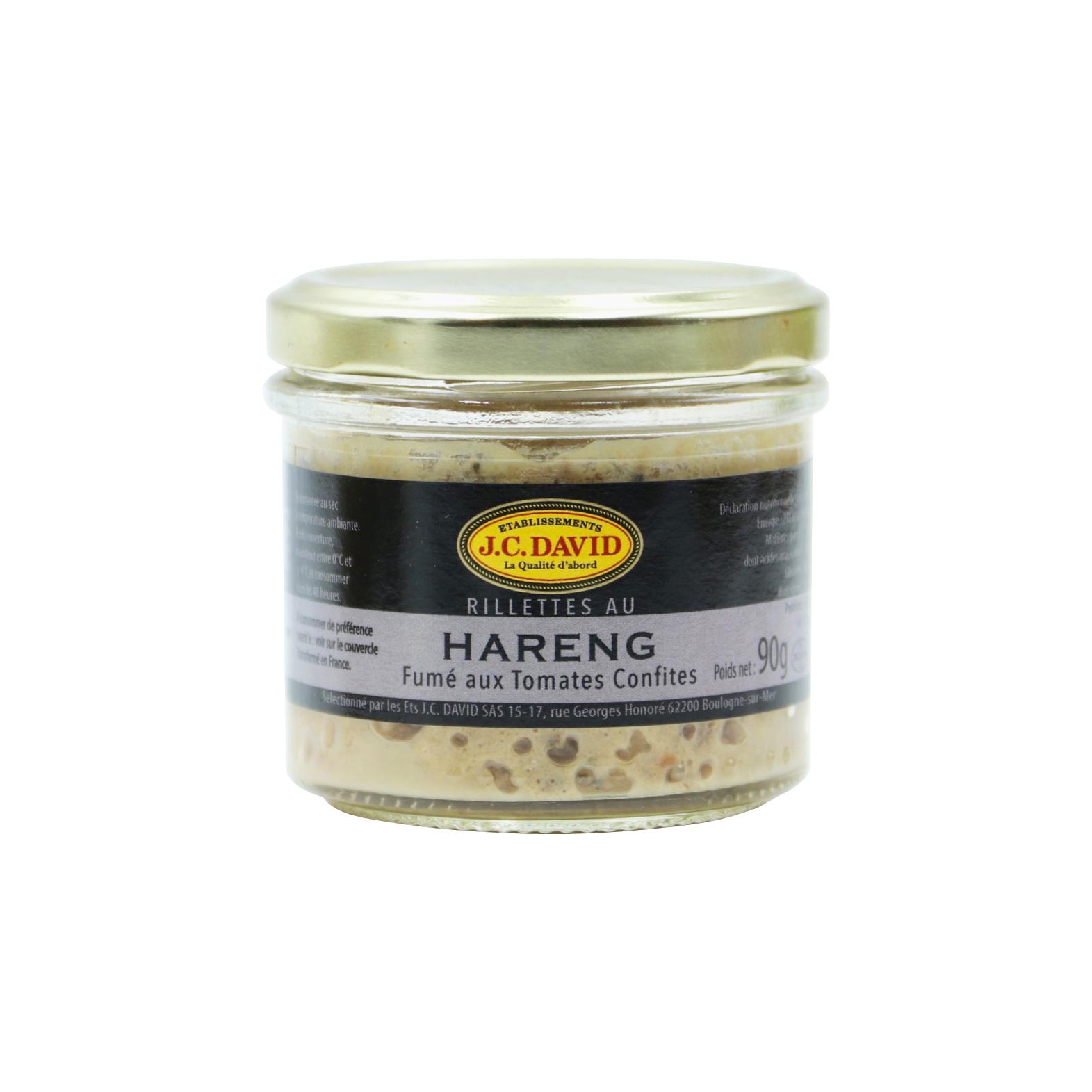 RILLETTES DE HARENG 40% - 90 g