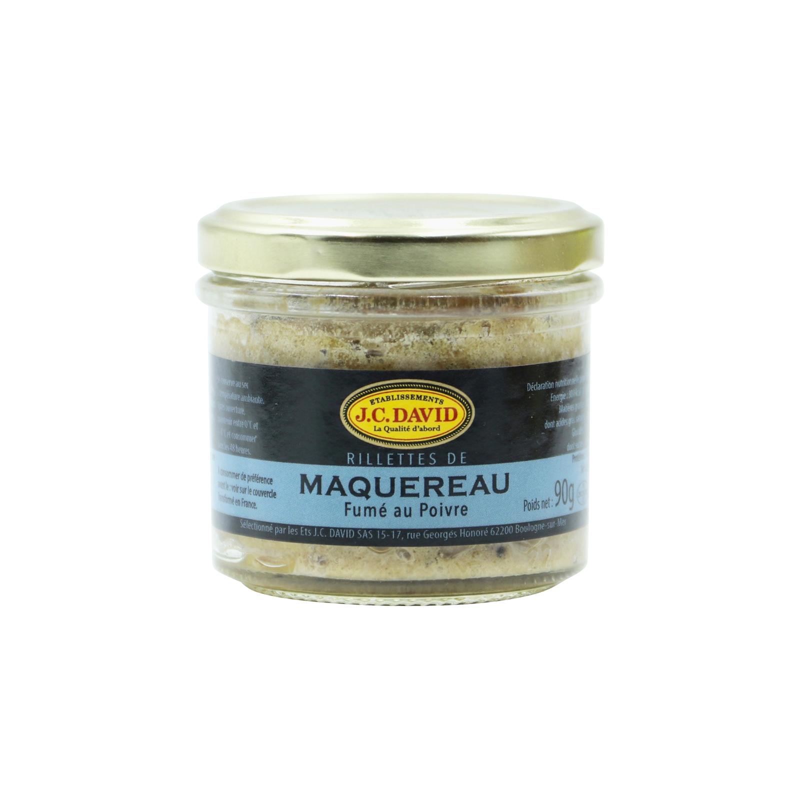 RILLETTES DE MAQUEREAU 60 % - 90 g