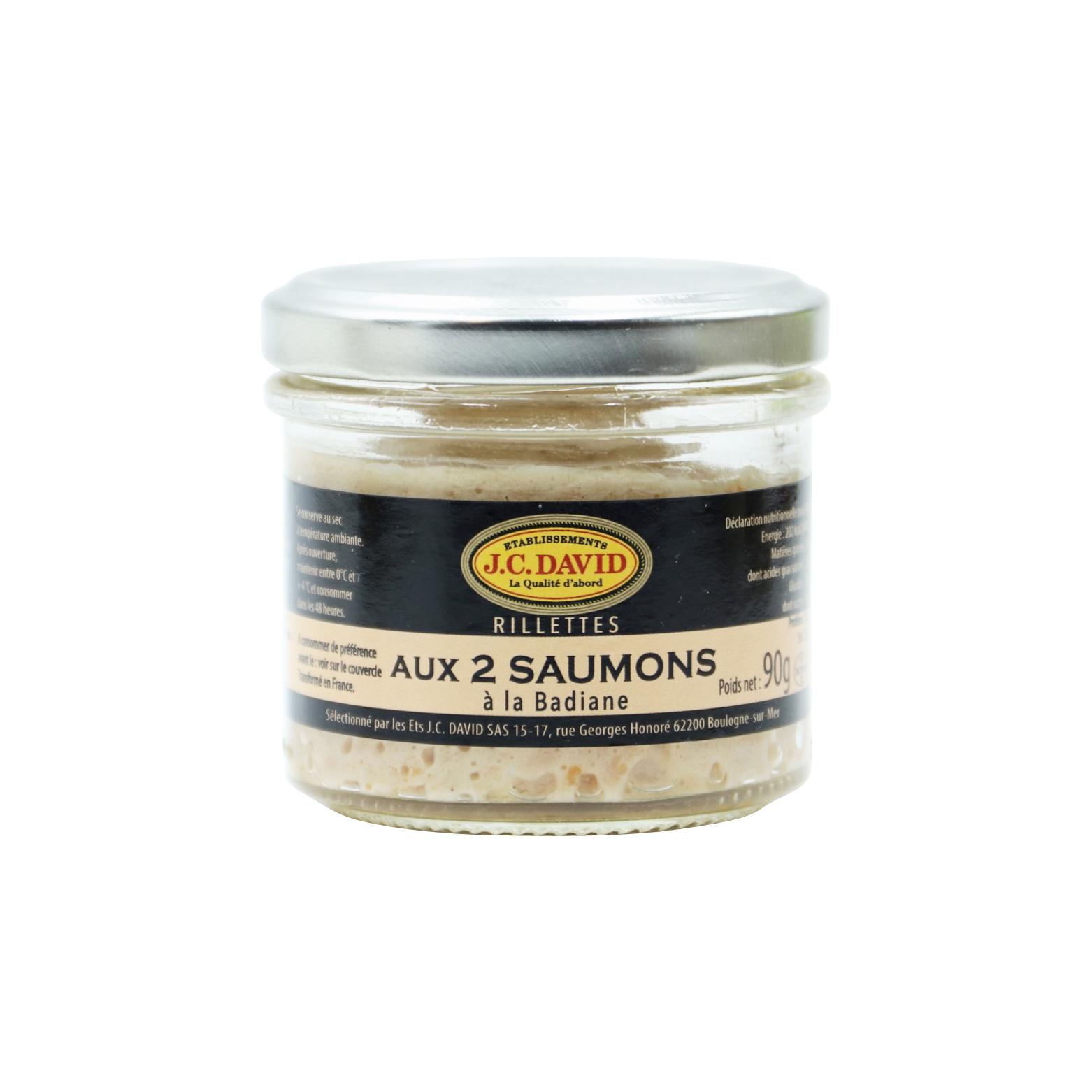 RILLETTES DE SAUMON - 90 g