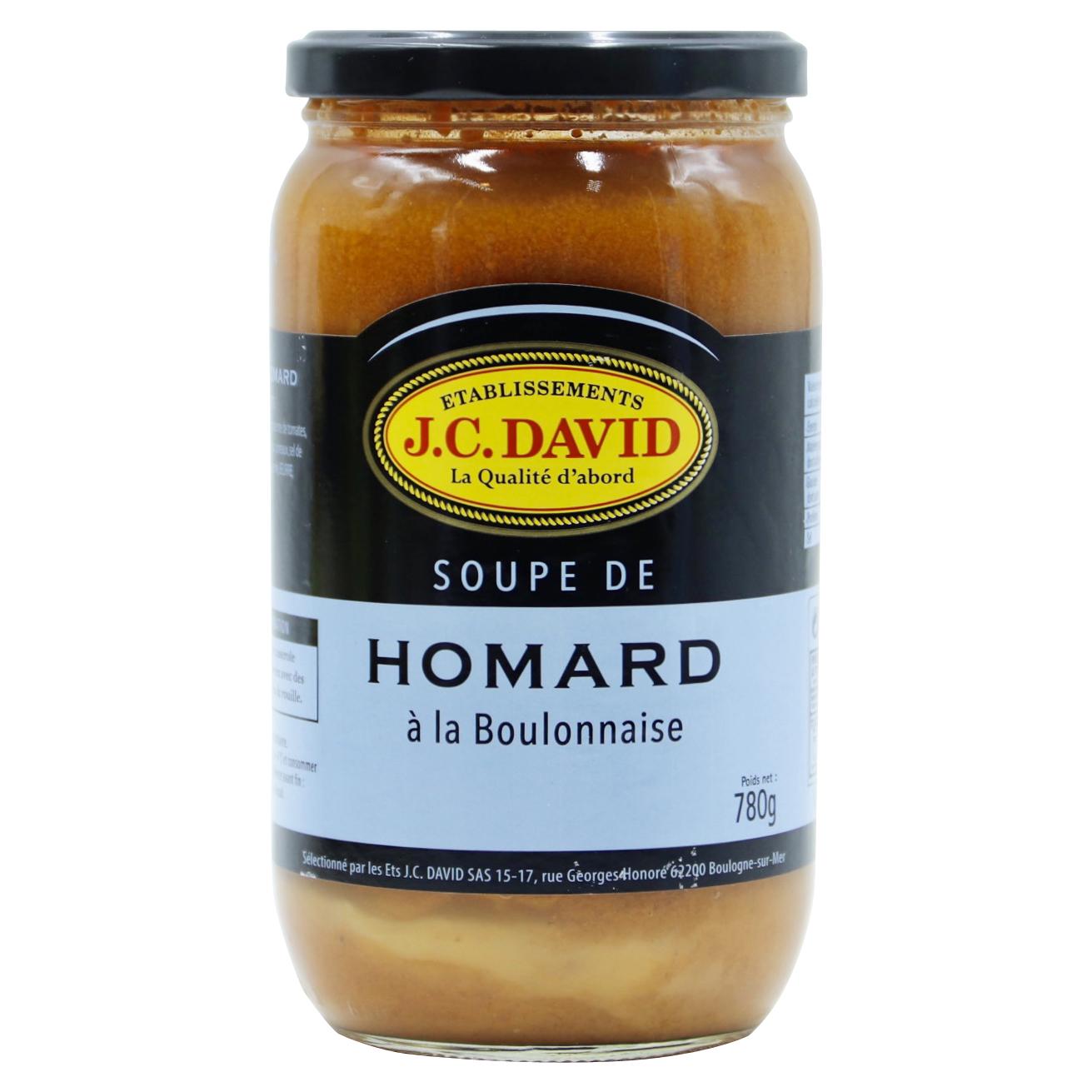 SOUPE DE HOMARD - 780 g