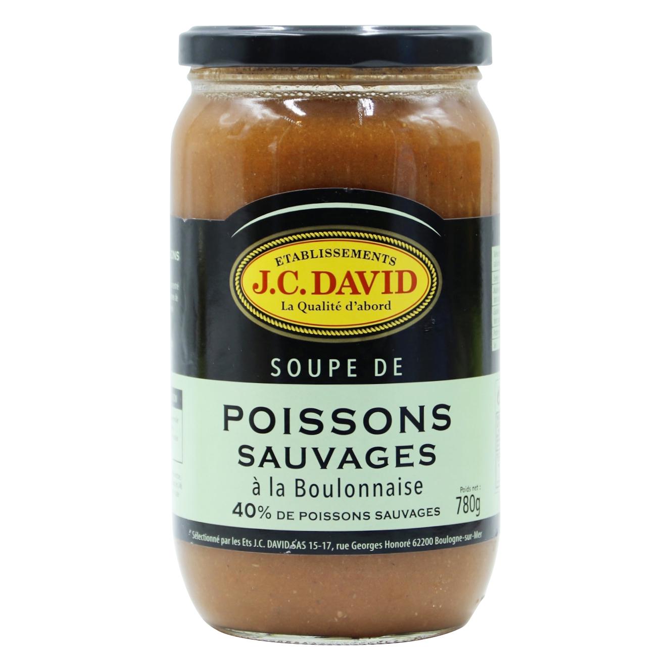 SOUPE DE POISSONS SAUVAGES 40% - 780 g