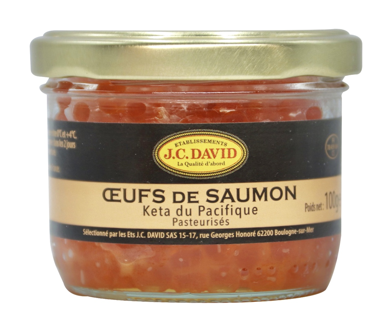 OEUFS DE SAUMON SAUVAGE - 100g