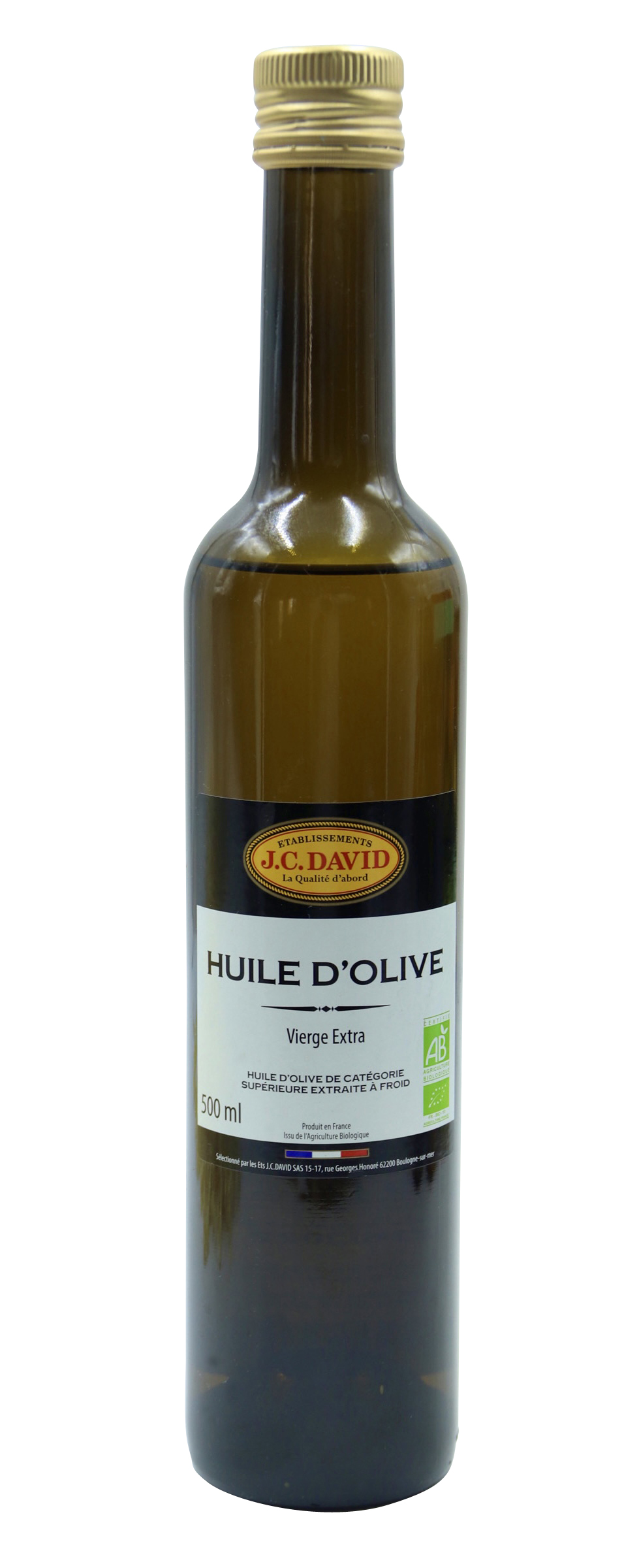 HUILE D\'OLIVE VIERGE EXTRA 50cl