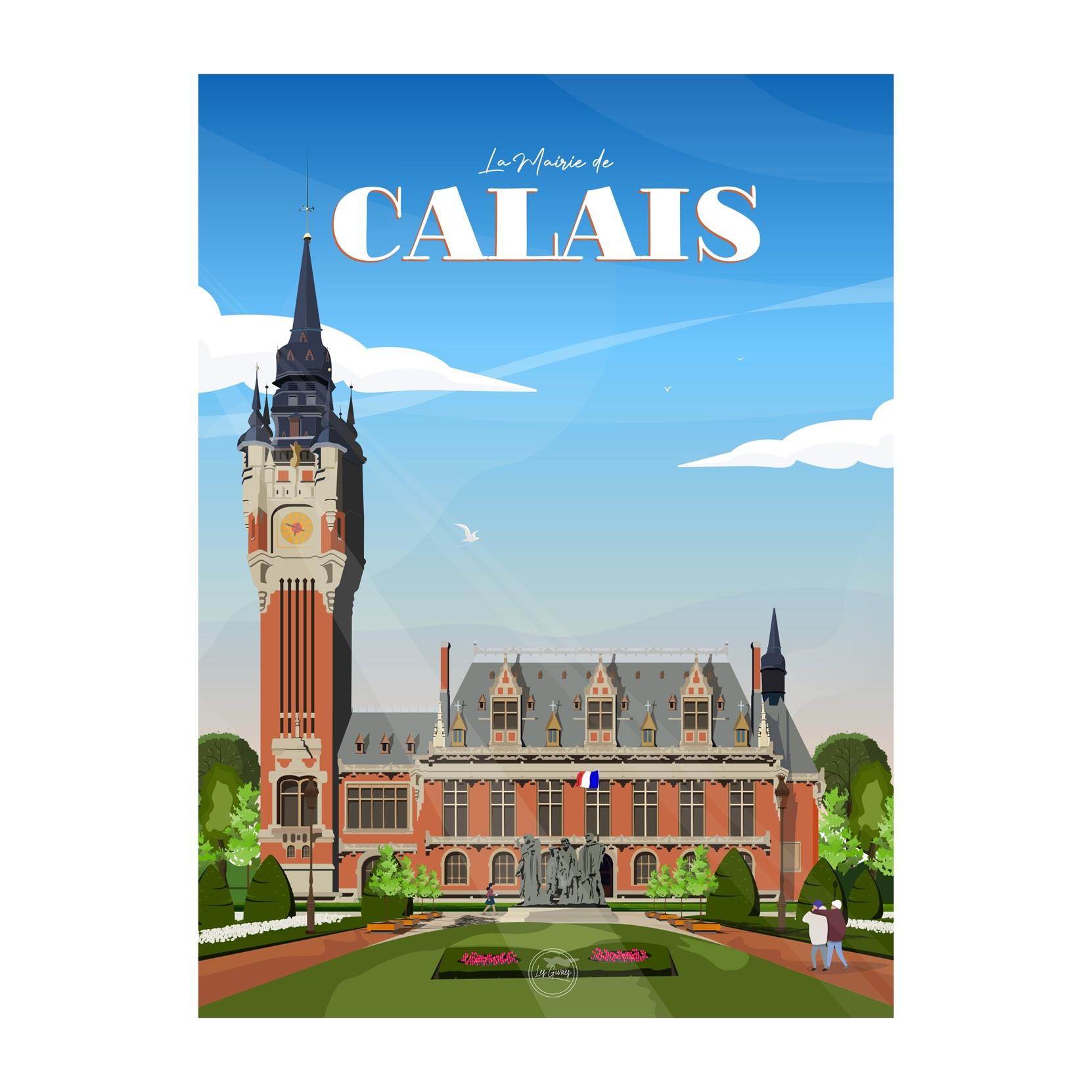 CALAIS - LA MAIRIE