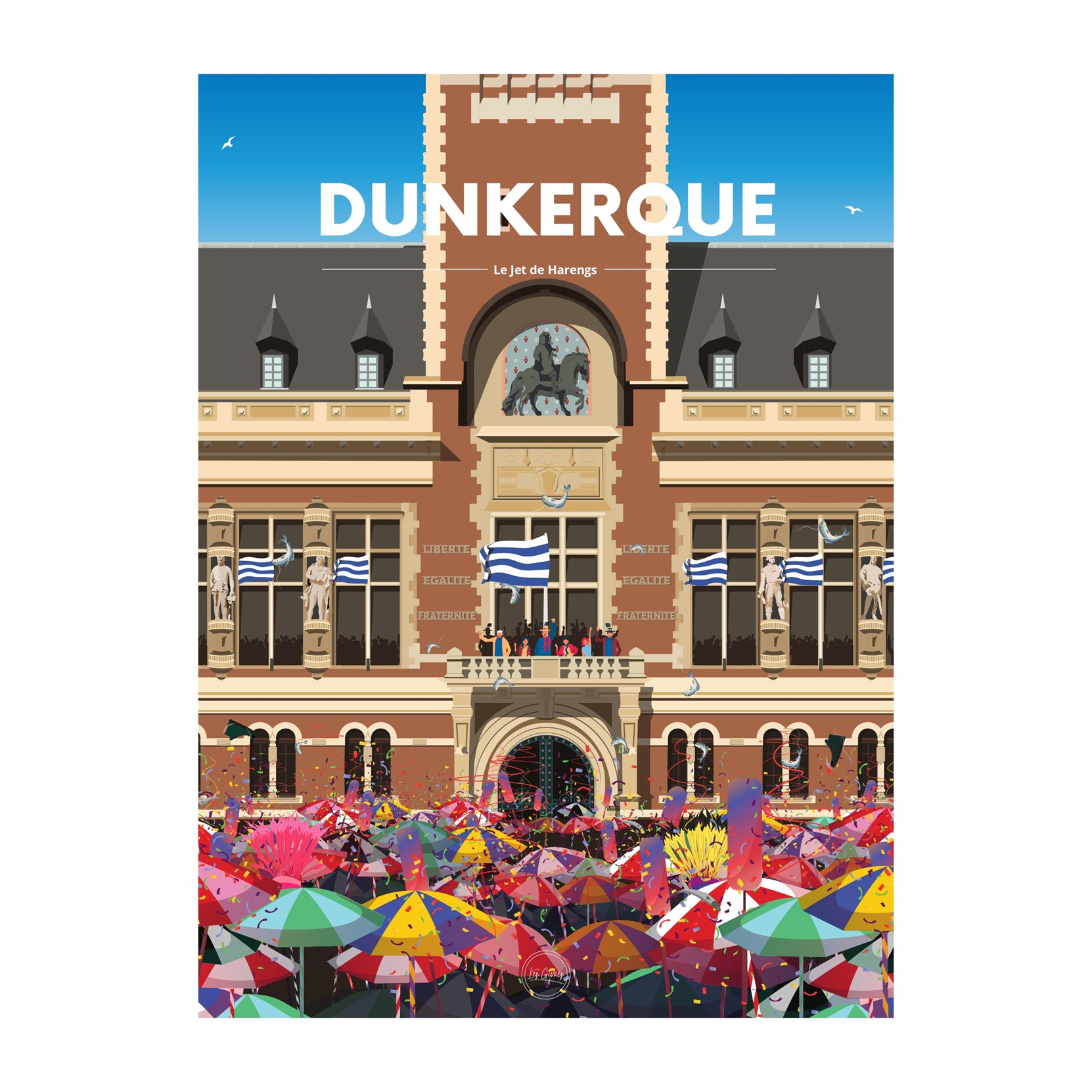 DUNKERQUE - LE JET DE HARENGS