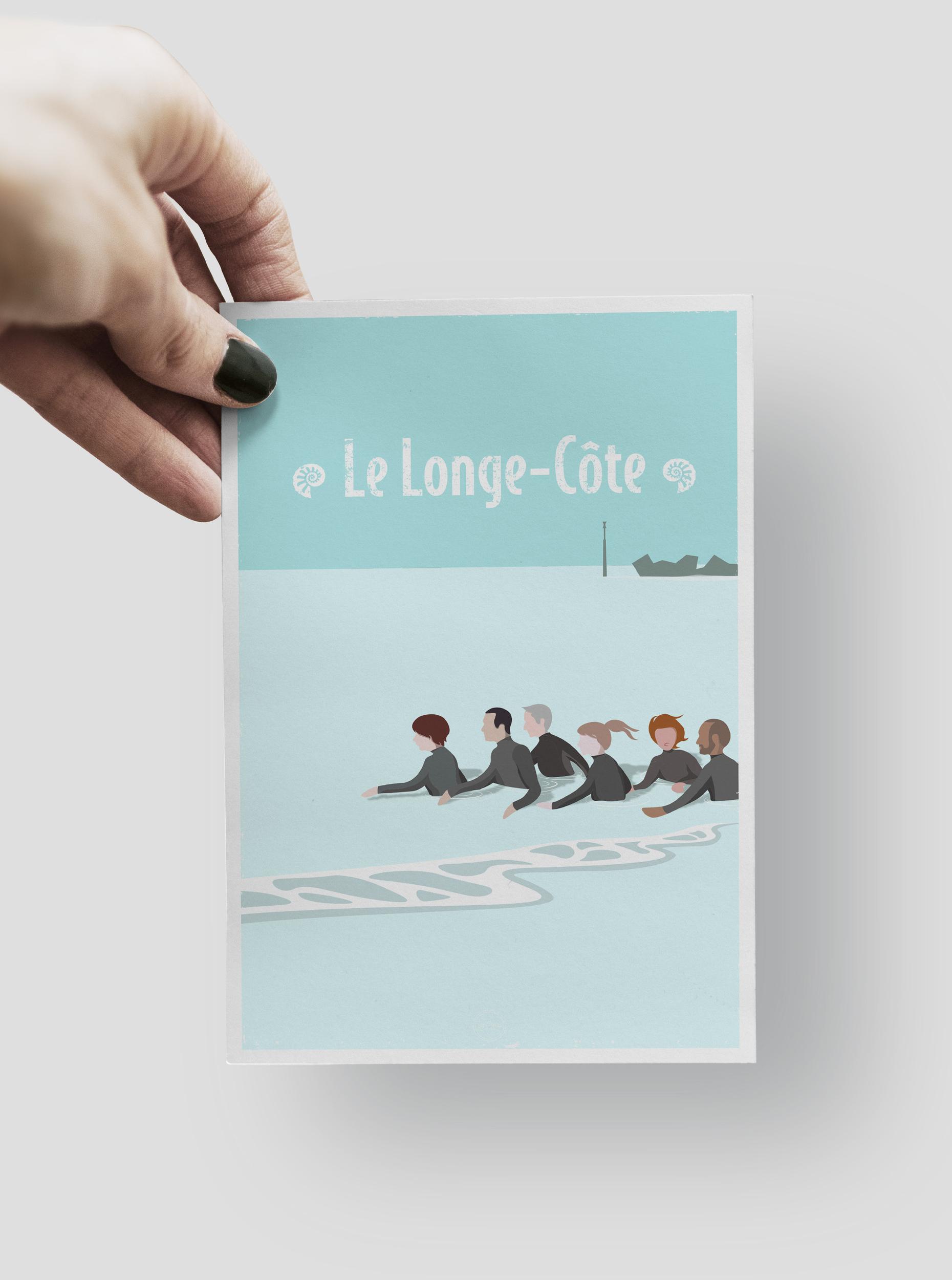 CARTE POSTALE - LE LONGE CÔTE