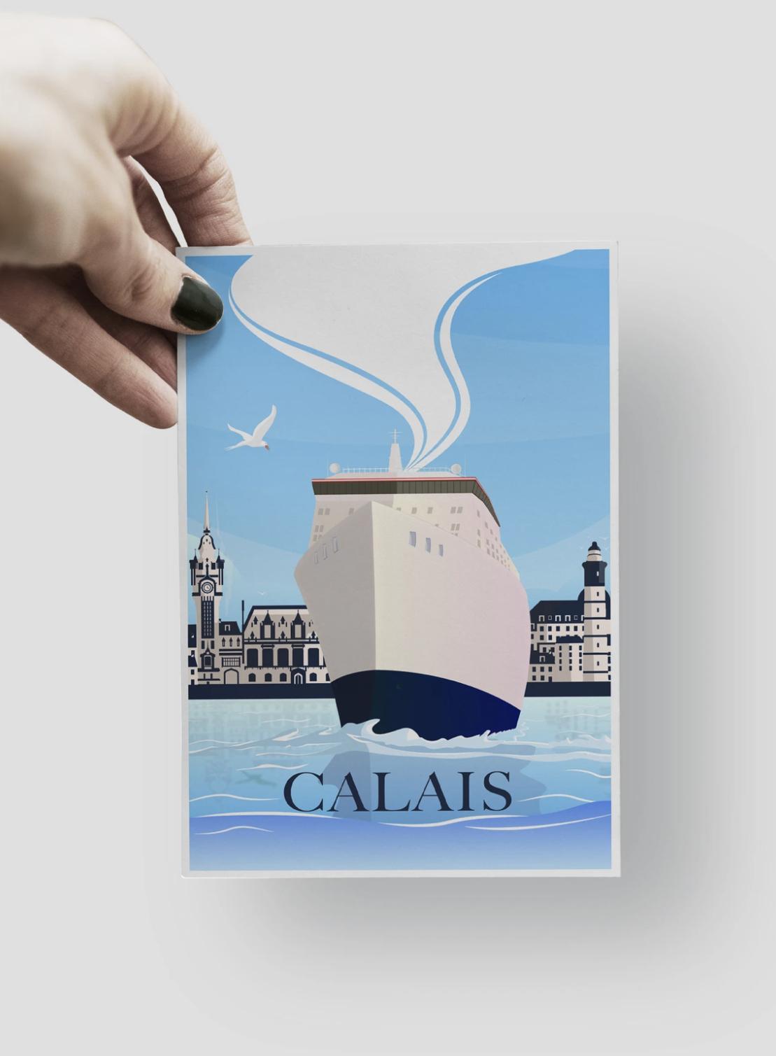 CARTE POSTALE - CALAIS