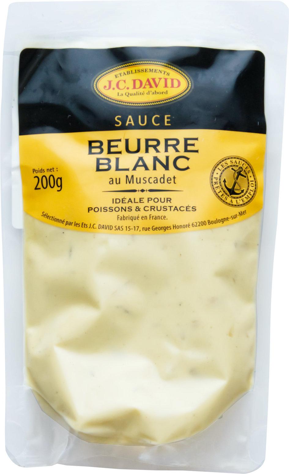 SAUCE BEURRE BLANC - 200 g