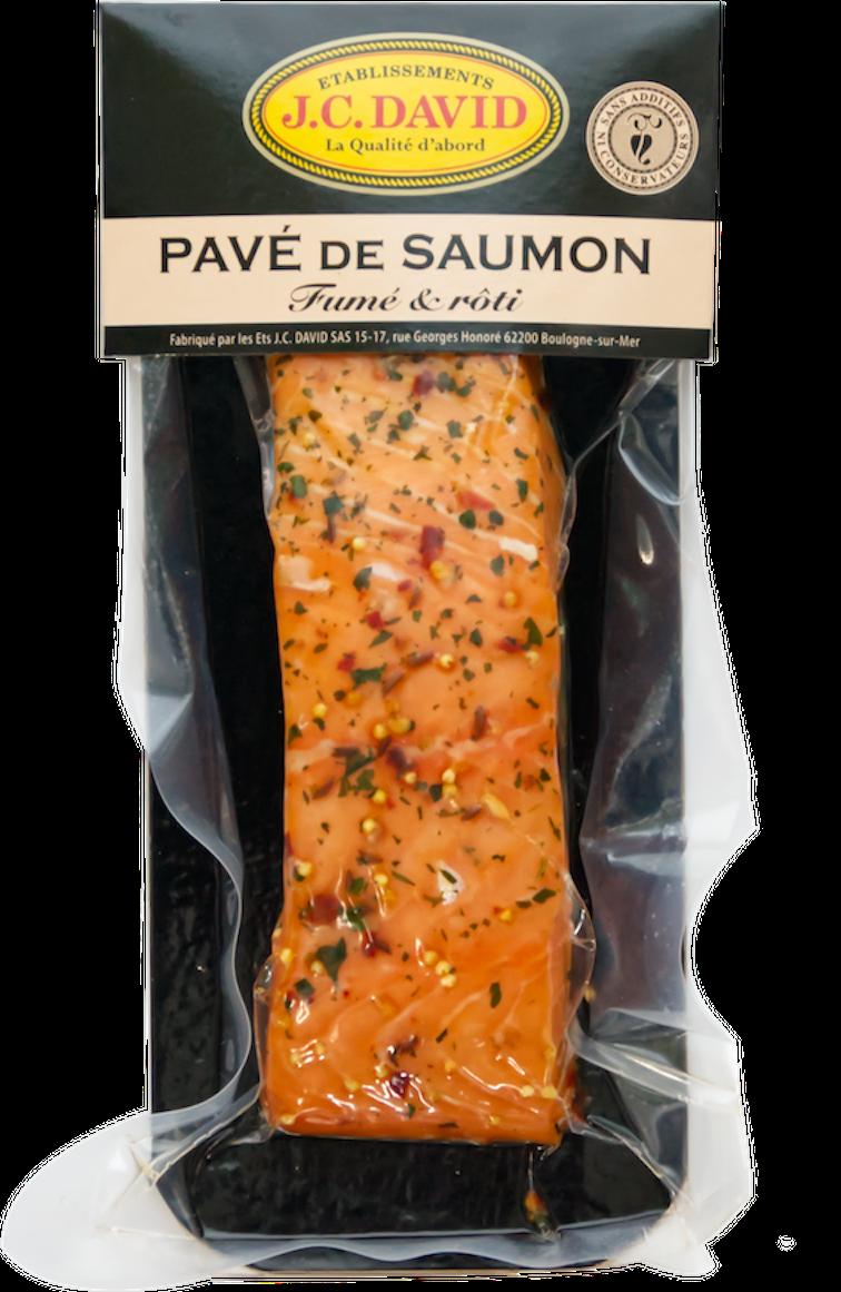 PAVÉ DE SAUMON AUX ÉPICES DE PROVENCE - 120 g
